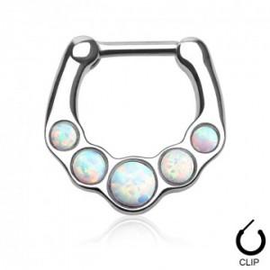piercing septum opale