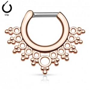 piercing-nez-septum-a-clip-esprit-indien-couleur-or-rose-pas-cher