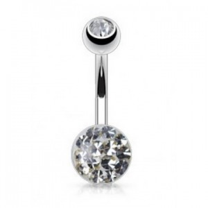 piercing nombril strass pas cher