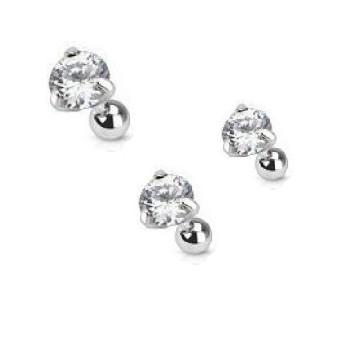 piercing h lix strass diamant magazine piercing et tatouage. Black Bedroom Furniture Sets. Home Design Ideas