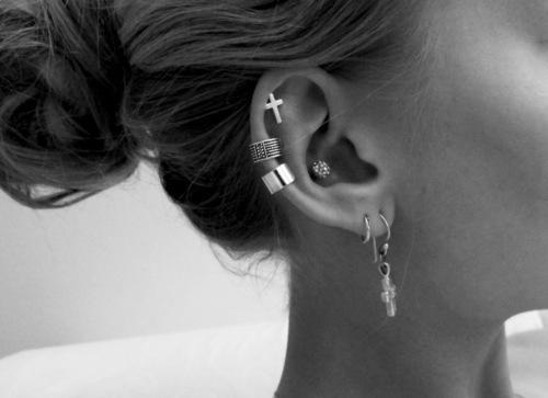 piercings pour les oreilles funs et swag