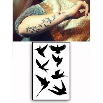 vente de tatouage temporaire oiseau demi lovato