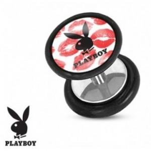 Nouveauté faux écarteur d'oreille de la marque Playboy