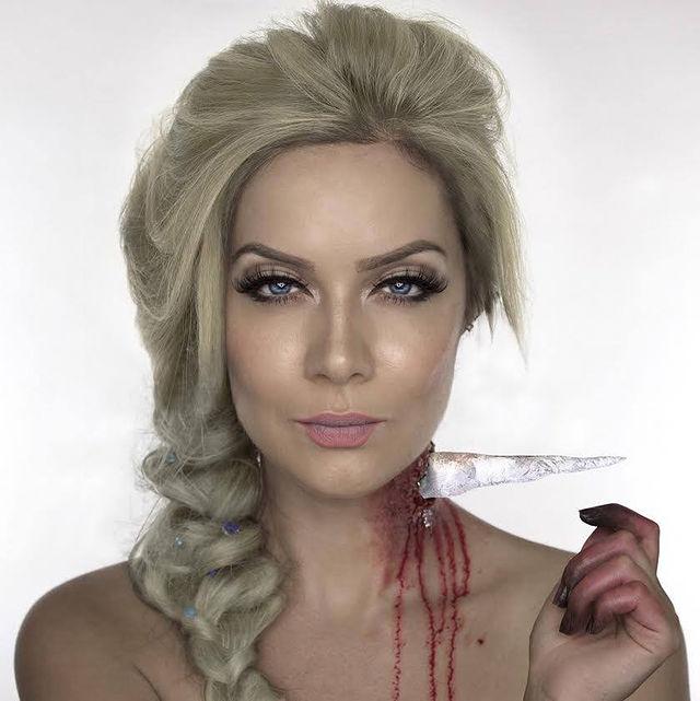 la mort de la reine des neige imaginer par Shonagh Scott