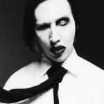 lentille couleur blanche et noir Marilyn Manson