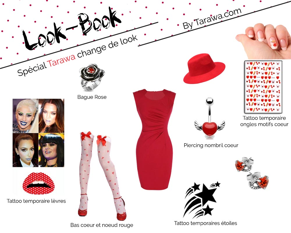 lookbook rouge