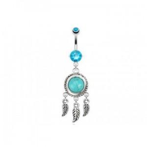 piercing-nombril-pendant-en-acier-chirurgical-attrape-reve-et-pierre-naturel-turquoise