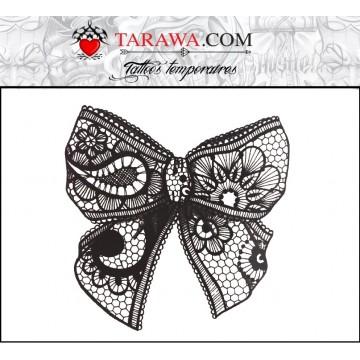 tatouage temporaire noeud dentelle dispo sur tarawa.com