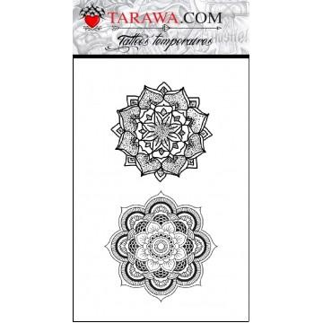 tatouage temporaire mandala rond disponibles usr tarawa.com