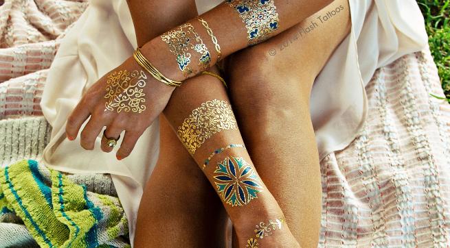astuce pour permettre au tatouage éphémère de durer plus lontemps