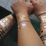 Le faux tatouage un nouveau phénomène de mode