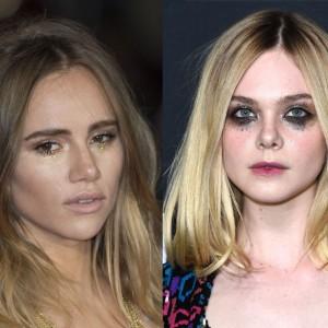 Les actrices aussi craque pour la tendances des larmes pailletées