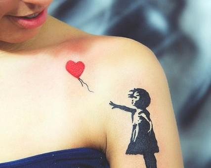 banksy: quand l'art inspire le tatouage | magazine piercing et tatouage