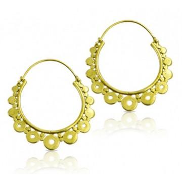 boucles d'oreilles pour femme craoles style espagnol sur tarawa.com