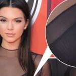 Kendall Jenner nouveau piercing Téton