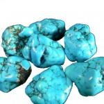 Piercing nombril turquoise