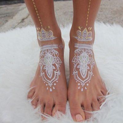 tatouage henné orientale