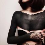Le Blackout tattoo, nouvelle coqueluche des tatoués