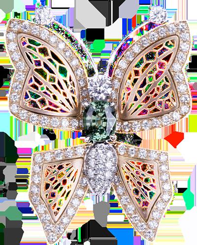 bijoux papillon-diamant