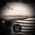 Sélection : tatouages minimalistes et symboliques