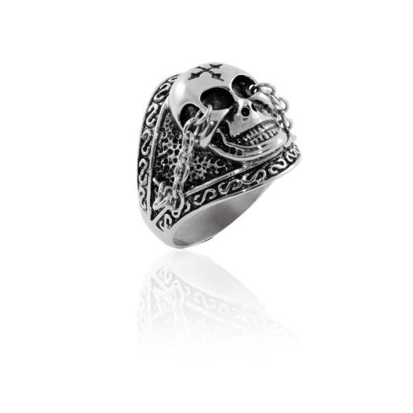vente de bague skull pour homme marque inori