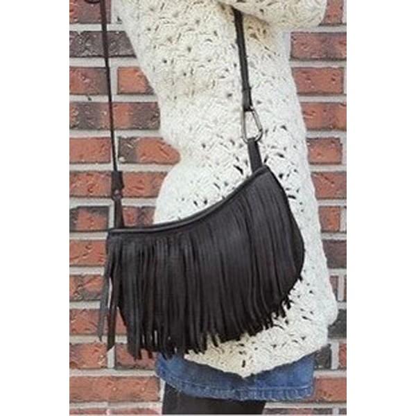 vente de sacs à main en cuir avec frange