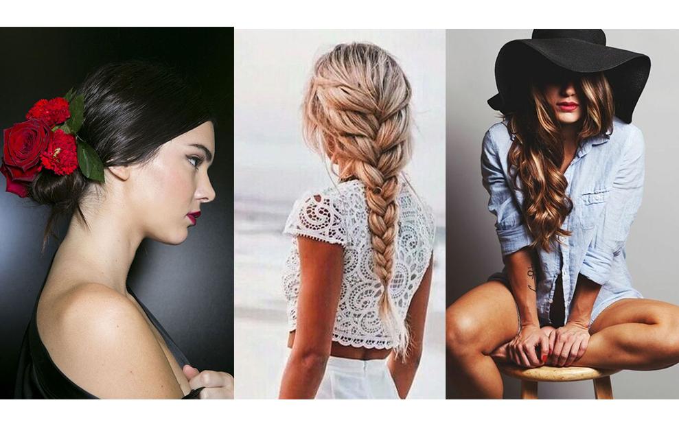 coiffure-été-2016-tendnace-accesoire-cheveux-fleur-chapeau-bandeau-tresse-wavy-