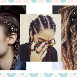 On adore la nouvelle tendance cheveux inspirée du piercing: le hair ring !