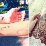 Les plus beaux tatouages inspirés par l'univers Disney !
