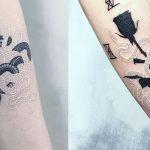 Mirko Sata: le génie des tatouages à l'encre blanche