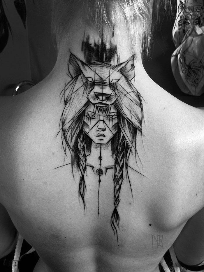 inez-janiak-tatouage-style-esquisse-indien
