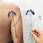 ZOOM : la technique de «l'empreinte botanique» de Rit Kit